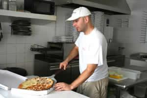 ovens for pizzerias with Automec gearmotors